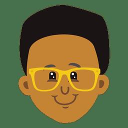 Boy cartoon head 1