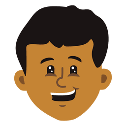 Boy cartoon head 3