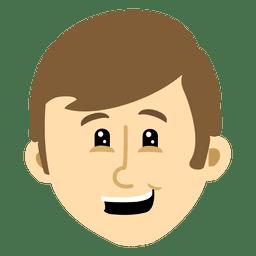 Boy head cartoon 4