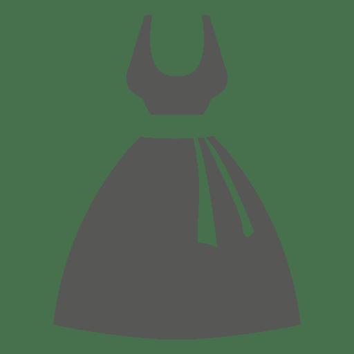 Icono de vestido de novia Transparent PNG