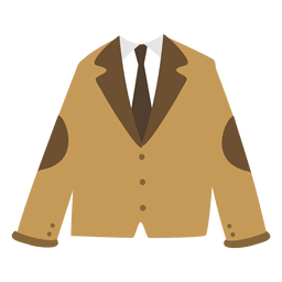 Chaqueta de hombre marrón