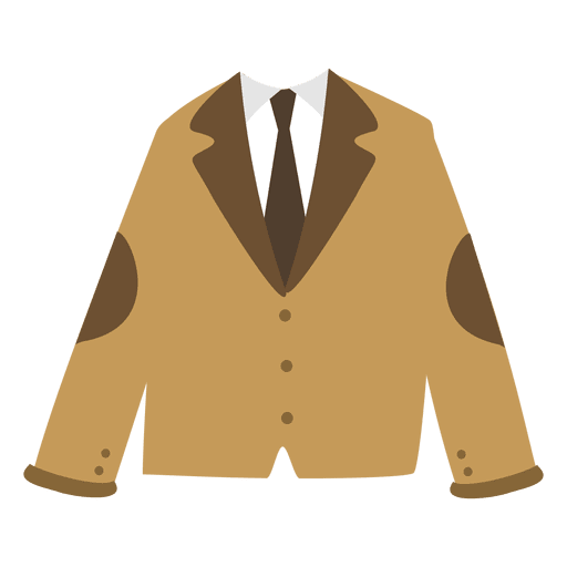 Blazer masculino marrom Transparent PNG