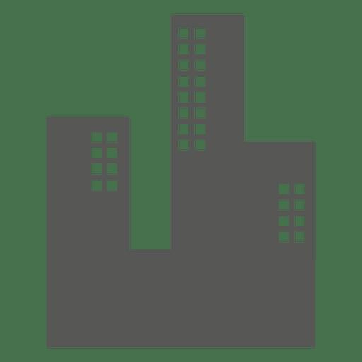 Buildings flat icon Transparent PNG