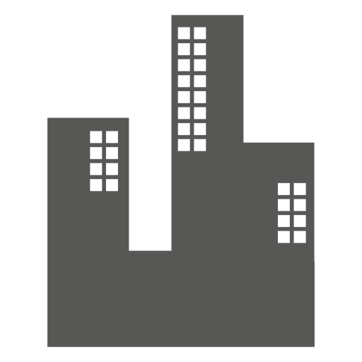 Buildings flat icon