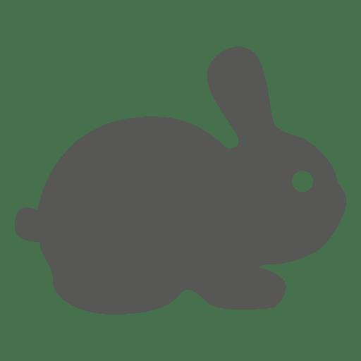 Bunny easter rabbit icon