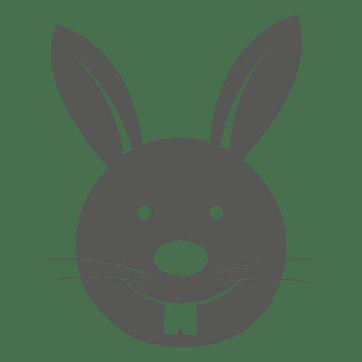 Icono de cabeza de conejito