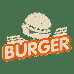 Logo de hamburguesa
