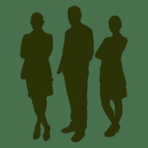 Silhueta de pessoas de negócios Transparent PNG