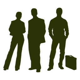 Business people silhouette 3