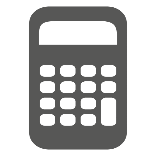 Calculator flat icon Transparent PNG