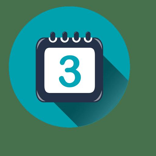 Calendar Icon Vector Png : Calendar circle icon drop shadow transparent png svg