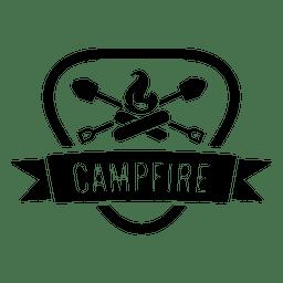 Lagerfeuer-Abzeichen 1