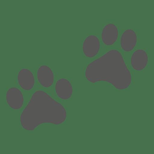 Icono de huella de gato