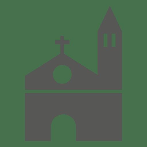 Catholic church building icon