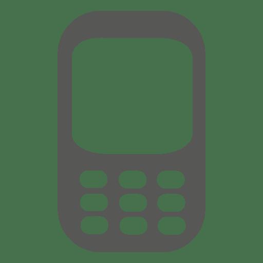 icono del tel fono celular silueta descargar png svg. Black Bedroom Furniture Sets. Home Design Ideas