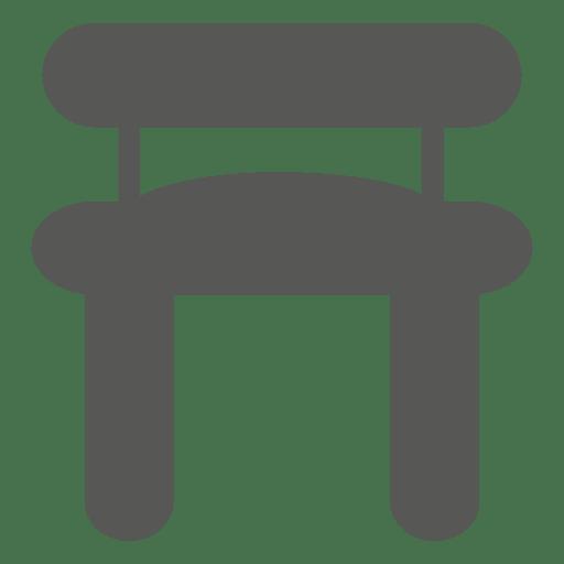 Silla con asiento blando Transparent PNG