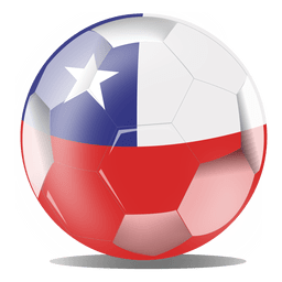 Chile flag ball