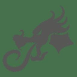 Icono de cabeza de dragón chino