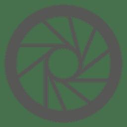 Chrome Kreissymbol