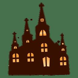 Desenho de edifício de igreja 2