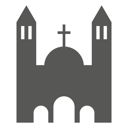Church building icon Transparent PNG