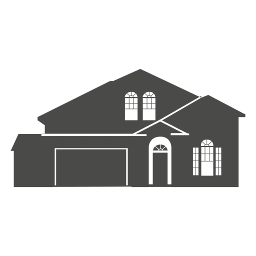 classic house silhouette 3 transparent png svg vector