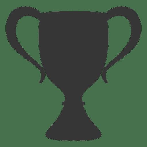 Trofeo cl?sico silueta