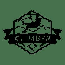 Insignia de escalador hexagonal