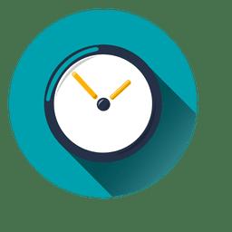 Icono de círculo de reloj