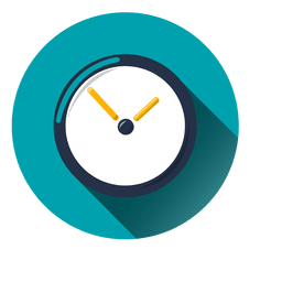 Icono del círculo del reloj