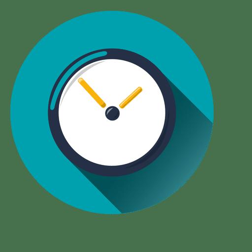 Ícone de círculo de relógio Transparent PNG