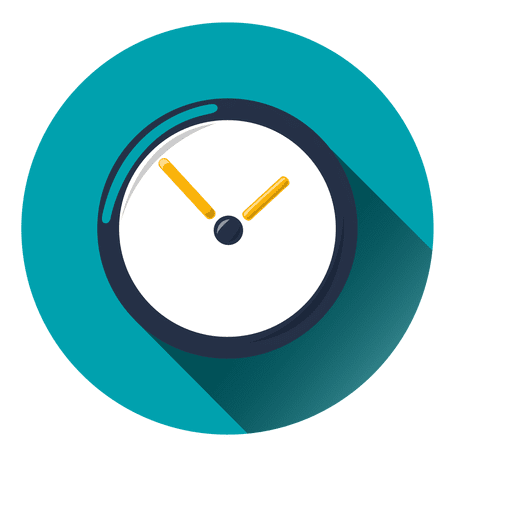 Clock circle icon - Transparent PNG & SVG vector