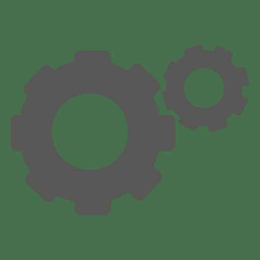 Zahnrad-Symbol Transparent PNG