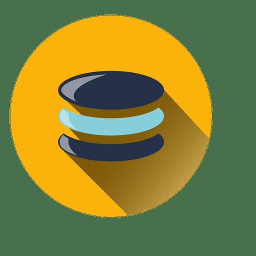 Ícone de círculo de moedas Transparent PNG
