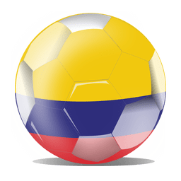 Colombia flag ball