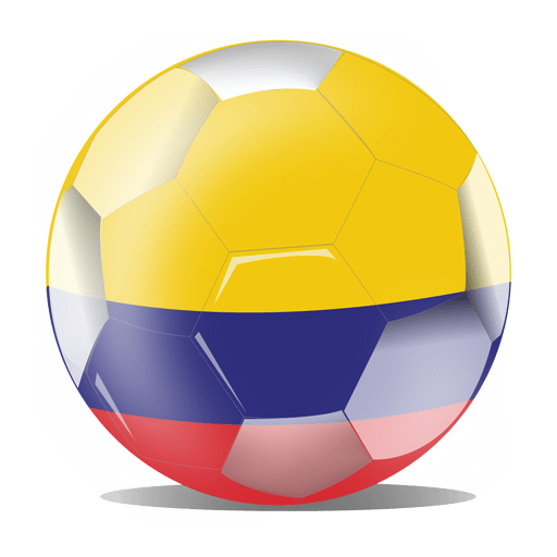 Colombia flag ball Transparent PNG
