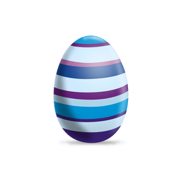 Colorful lines easter egg