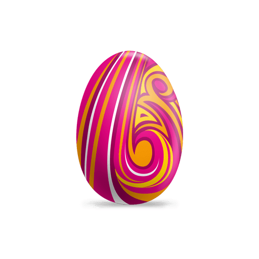 Colorful Painted Easter Egg Transparent Png Svg Vector File