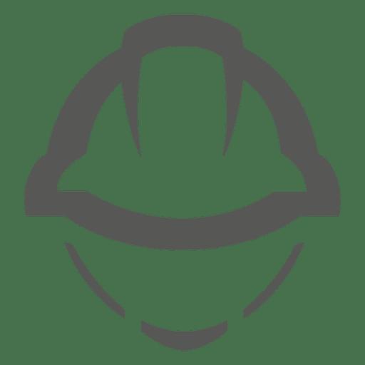 Ícone do capacete de construção Transparent PNG
