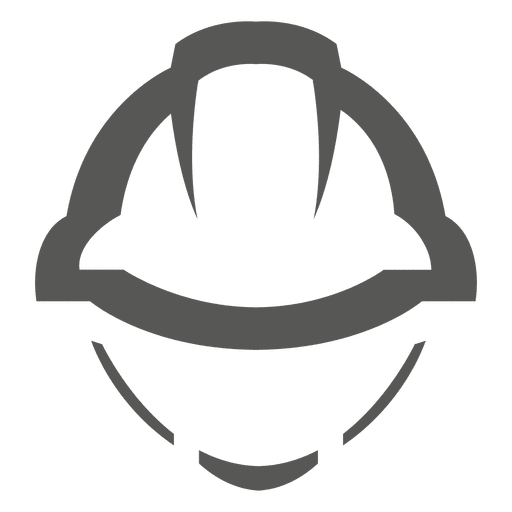 Construction helmet icon Transparent PNG