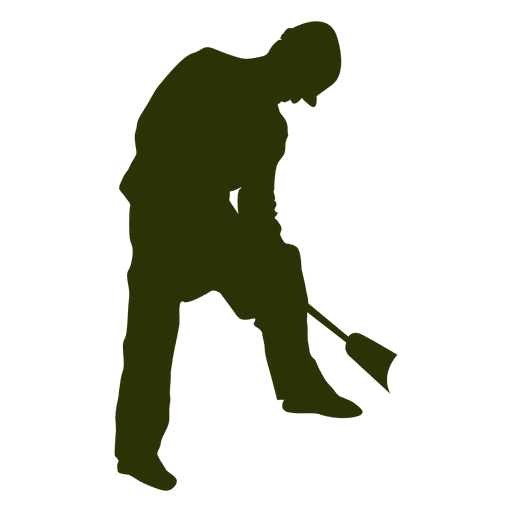 Construction worker silhouette Transparent PNG