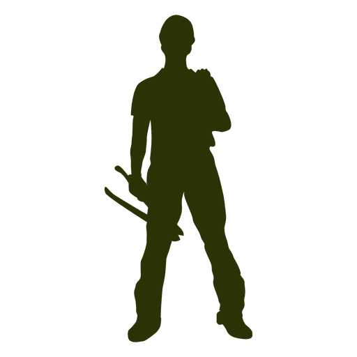 Construction worker with tools Transparent PNG