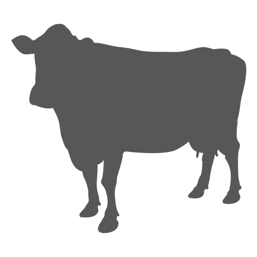 Cow flat icon - Transparent PNG & SVG vector