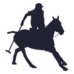 Cowboy rodeo silhouette
