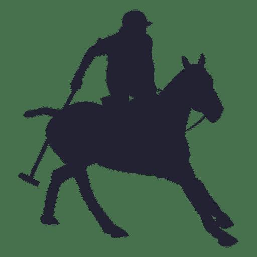 Silhueta de rodeio de vaqueiro Transparent PNG