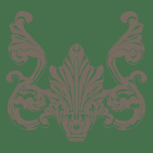 Decoração de farinhas ornamentada criativa Transparent PNG