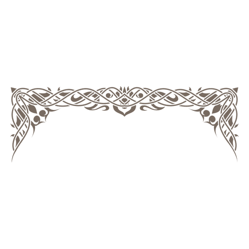 Creative ornamented frame decoration