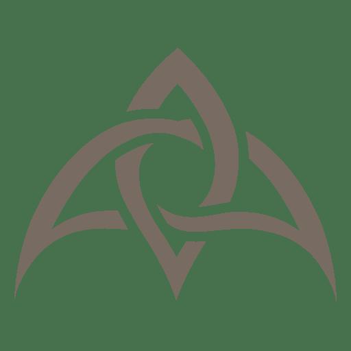 Decoração de canto tribal criativo Transparent PNG