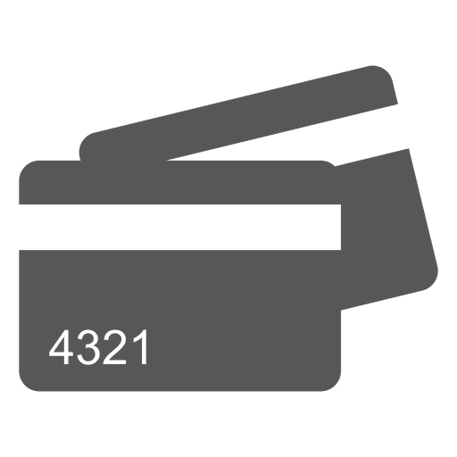 Creditcards icon Transparent PNG