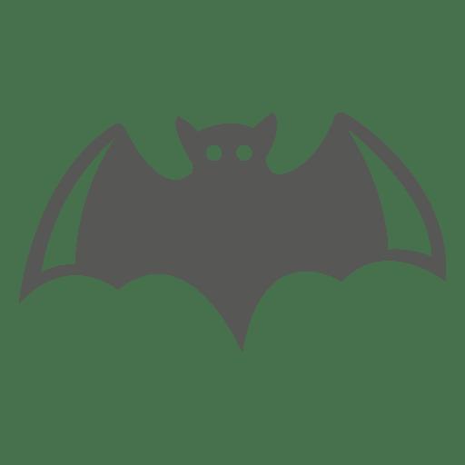 Ícone de morcego assustador